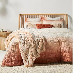 Anthropologie Marlowe Jersey Quilt Ombre FULL